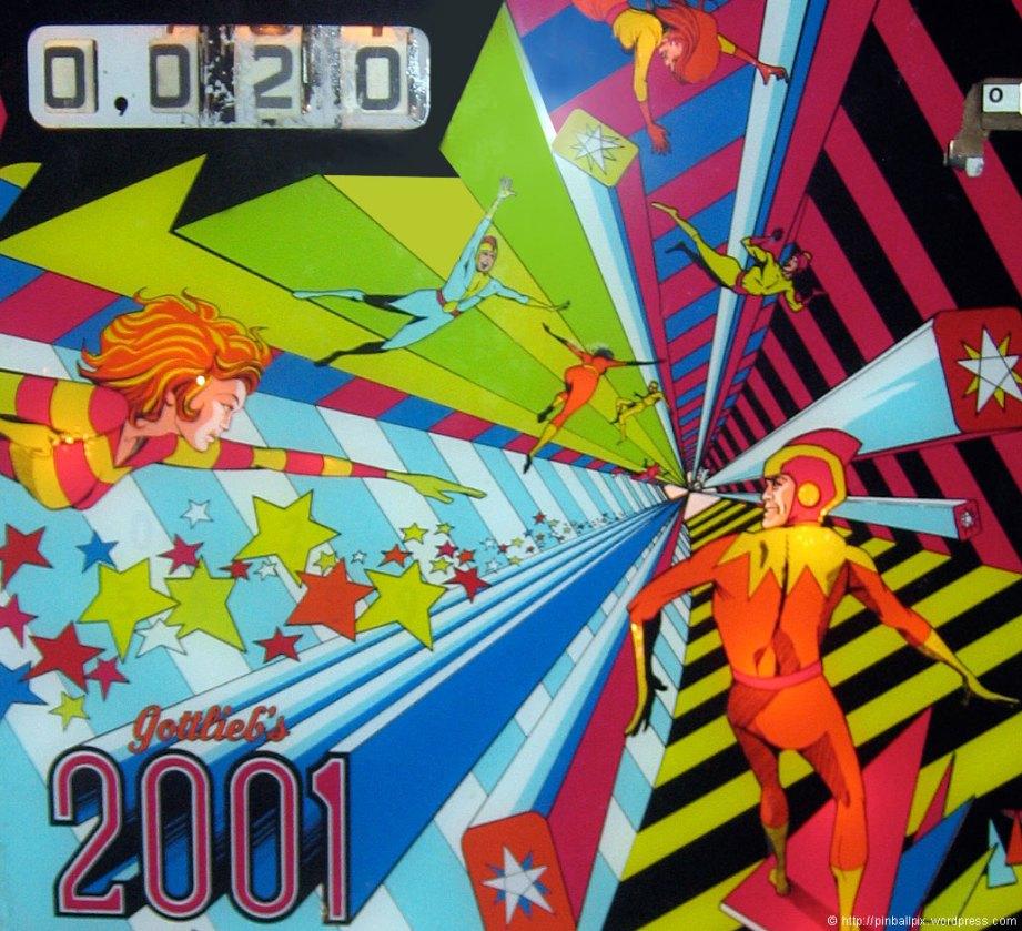 2001 Pinball ~ from PinballPix Pinball Blog