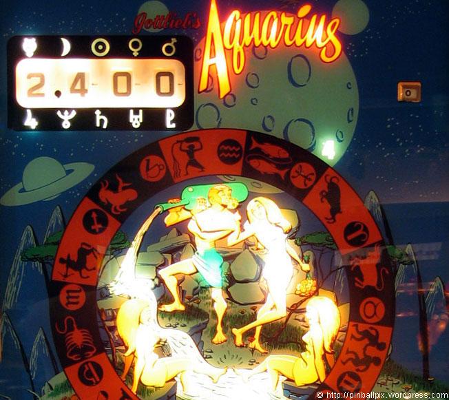 Aquarius Pinball ~ from PinballPix Pinball Blog
