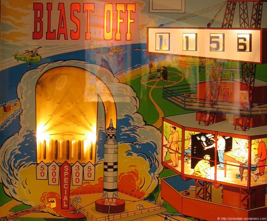 Blast Off Pinball ~ from PinballPix Pinball Blog