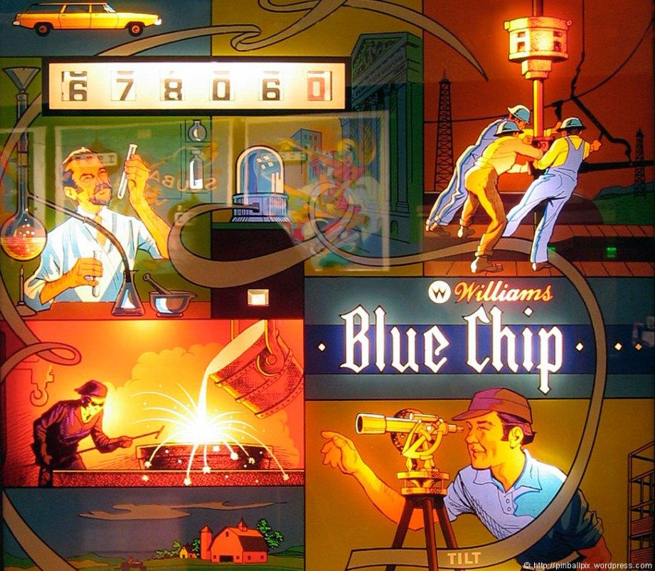 Blue Chip Pinball ~ from PinballPix Pinball Blog