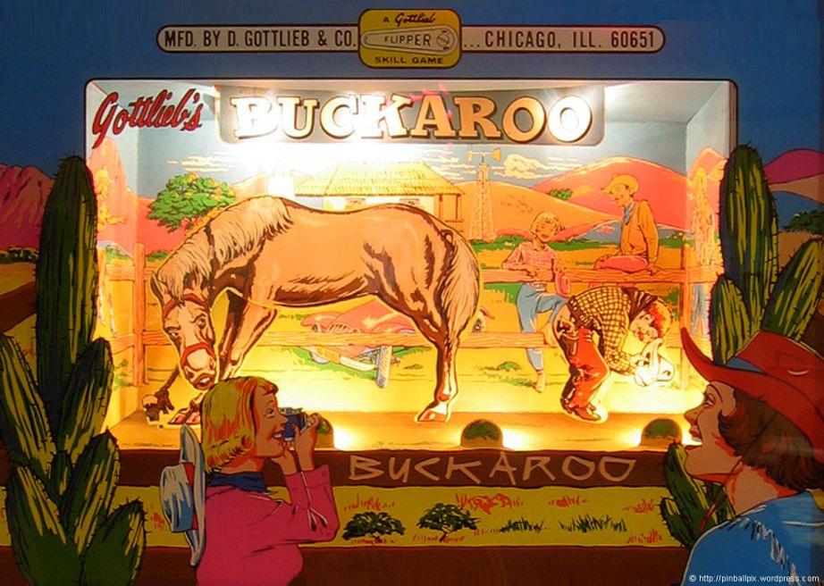 Buckaroo Pinball ~ from PinballPix Pinball Blog