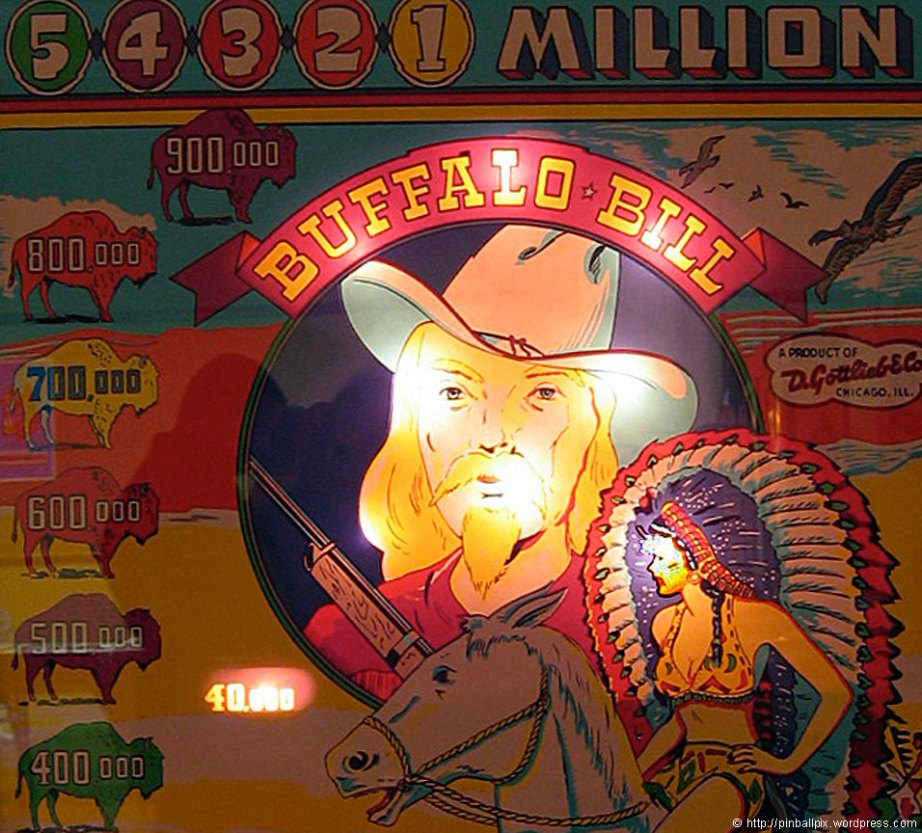 Buffalo Bill Pinball ~ from PinballPix Pinball Blog