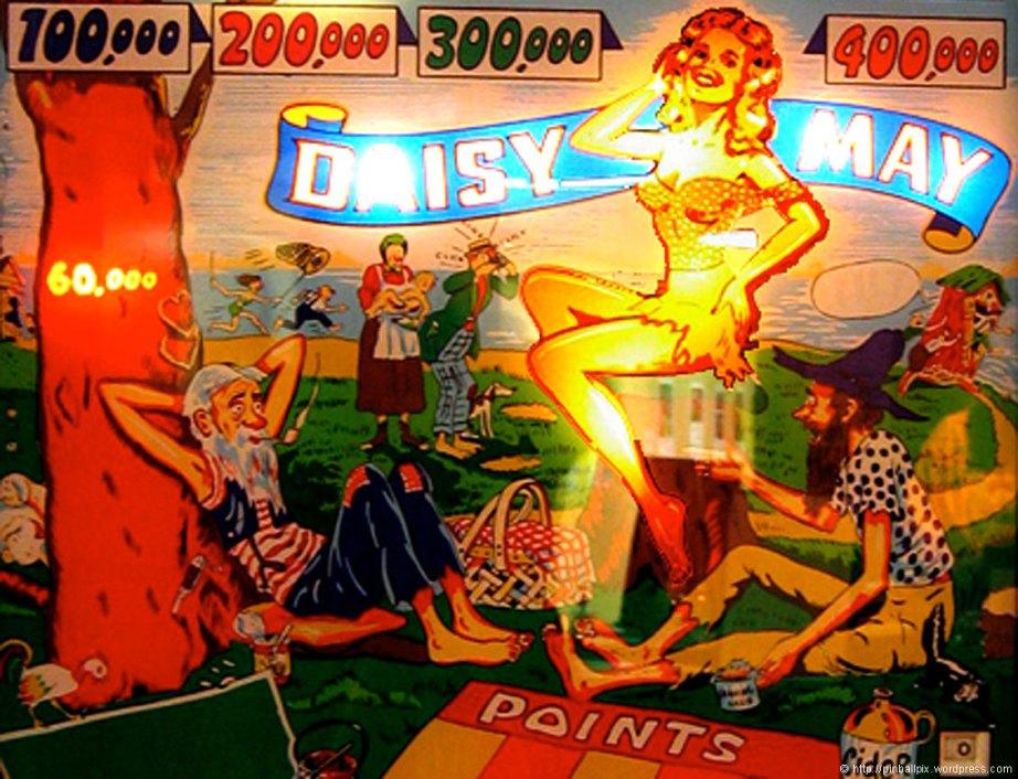 Daisy May Pinball ~ from PinballPix Pinball Blog