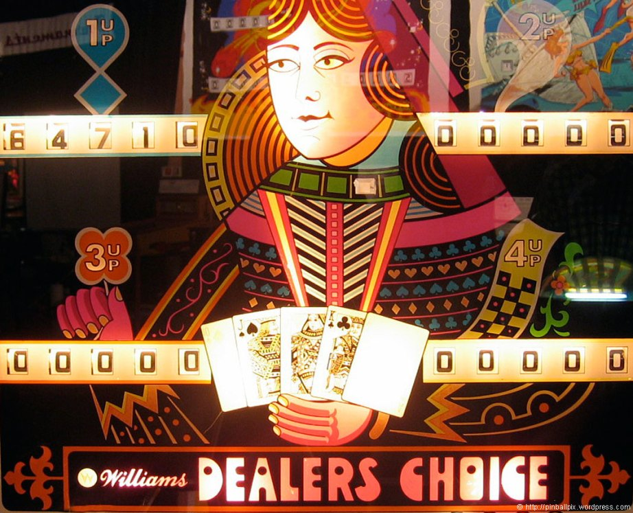 Dealers Choice Pinball ~ from PinballPix Pinball Blog