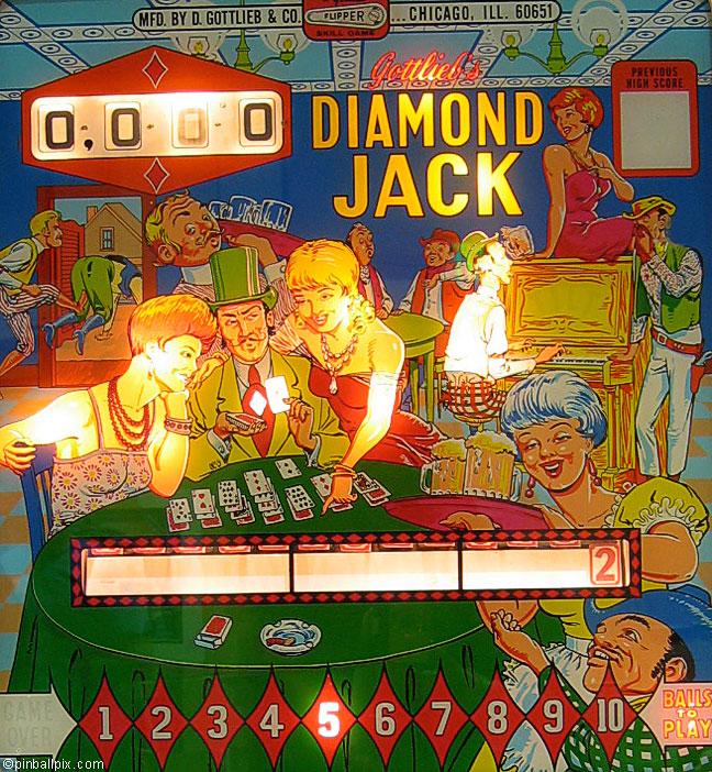 Diamond Jack Pinball (1967 Gottlieb)