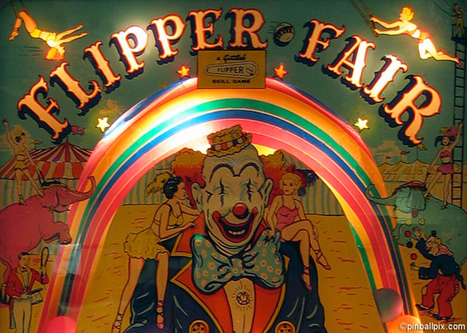 Flipper Fair Pinball Wallpaper ~ from PinballPix.com