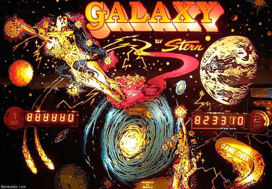 Galaxy Pinball ~ from PinballPix.com