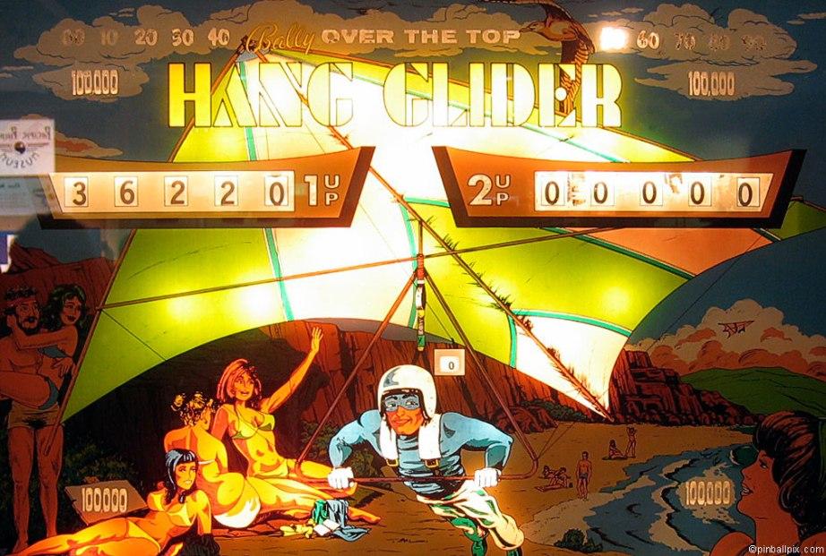 Hang Glider Pinball ~ From PinballPix.com