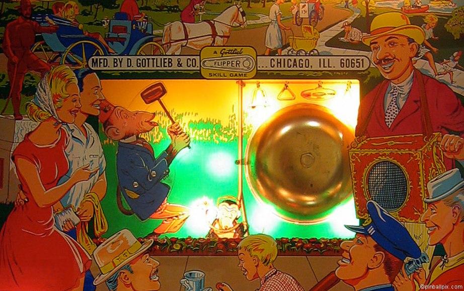 Hurdy Gurdy Pinball Wallpaper ~ From PinballPix.com