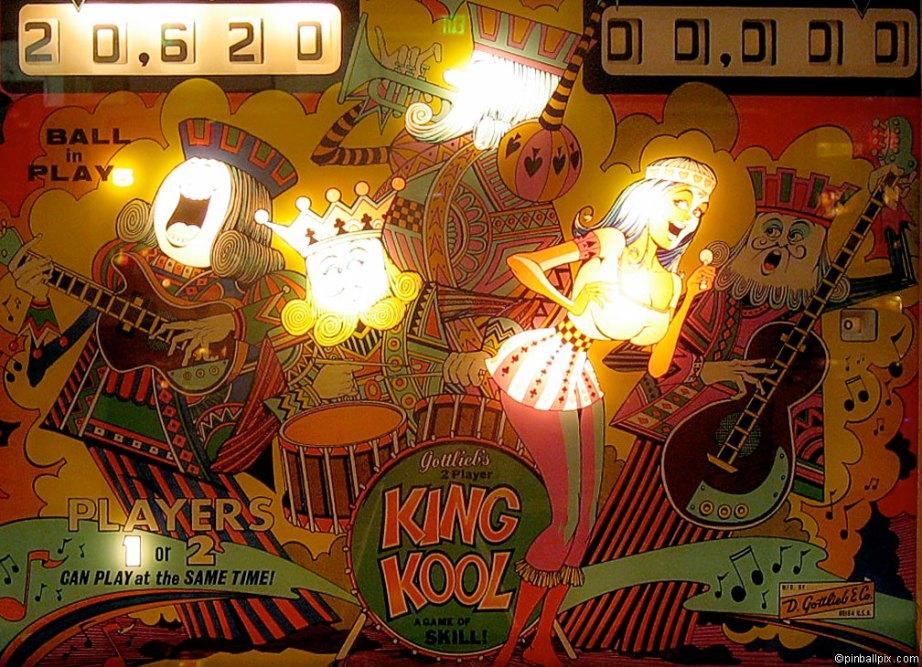 King Kool Pinball Wallpaper ~ From PinballPix.com