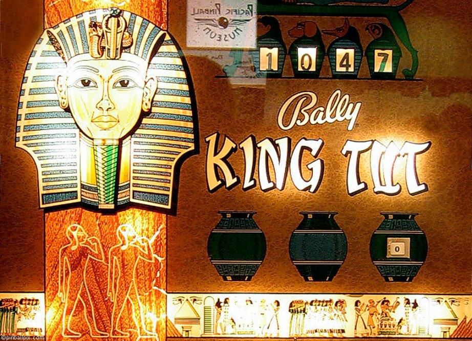 King Tut Pinball Wallpaper ~ From PinballPix.com