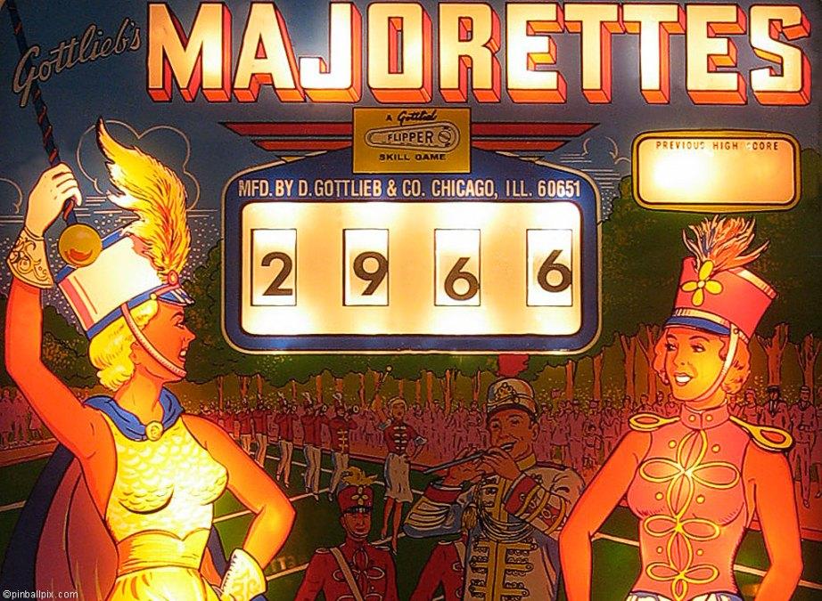 Majorettes Pinball ~ Desktop Wallpaper