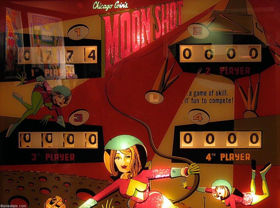 Moon Shot Pinball Wallpaper ~ From PinballPix.com