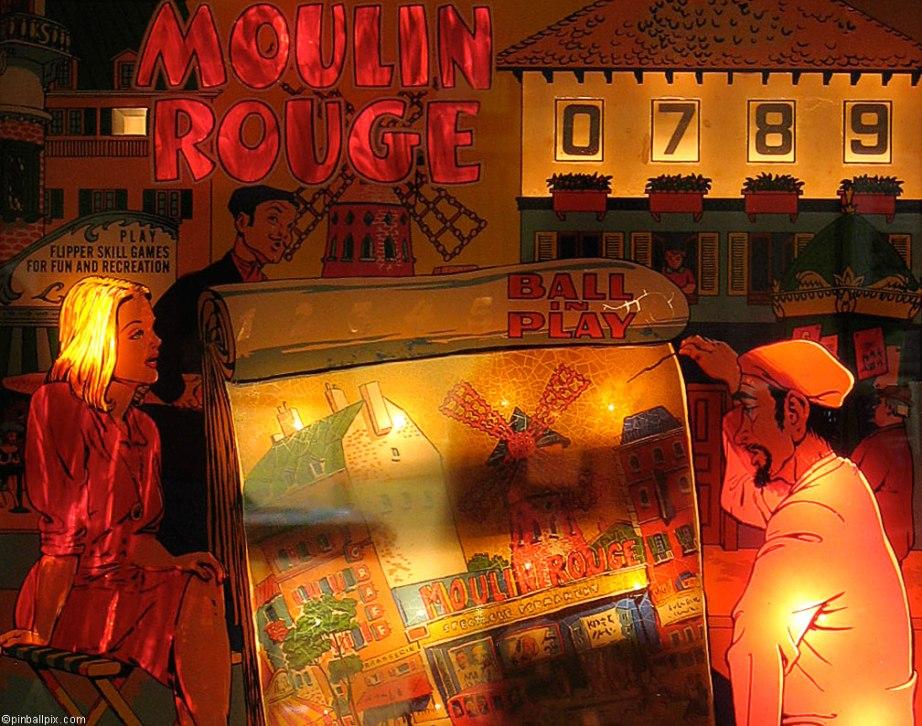 Mouin Rouge Pinball Wallpaper ~ From PinballPix.com
