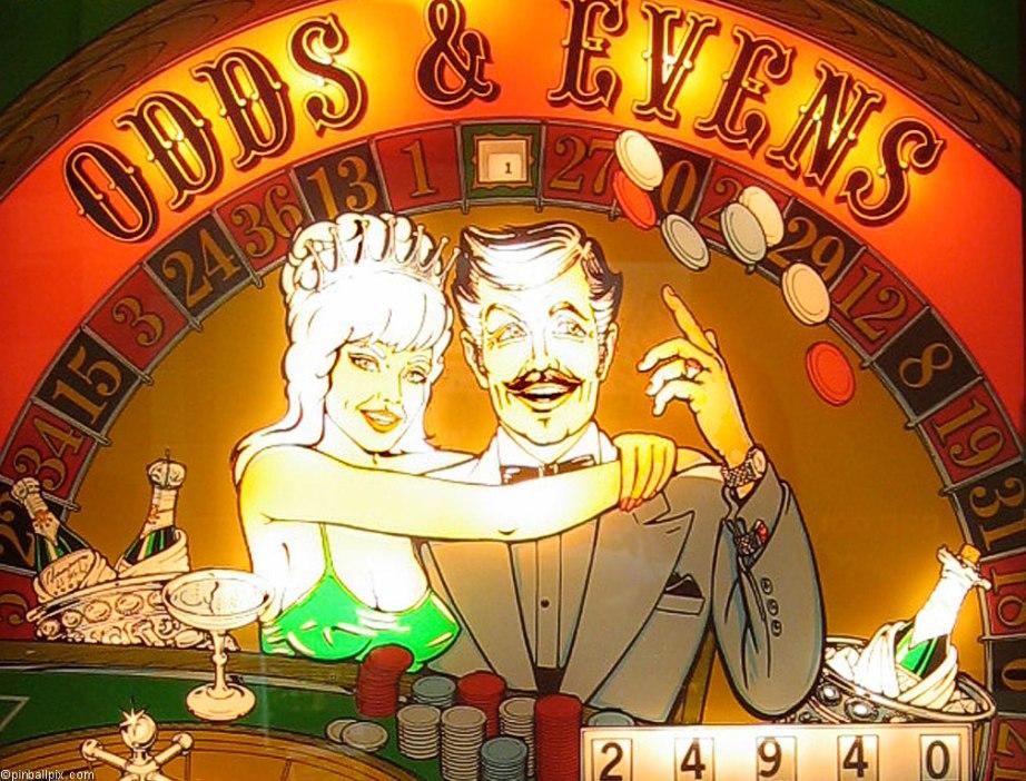 Odds & Evens Pinball Wallpaper ~ From PinballPix.com