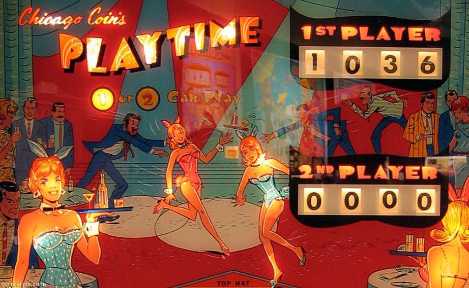 Playtime Pinball  Wallpaper ~ From PinballPix.com