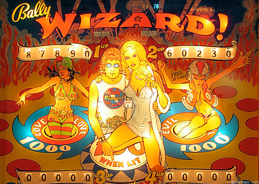 Wizard Pinball Wallpaper