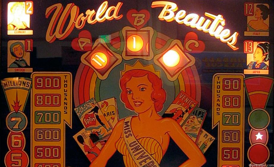 World Beauties Pinball Desktop Wallpaper