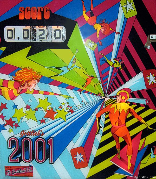 2001 Pinball 1971 Gottlieb)