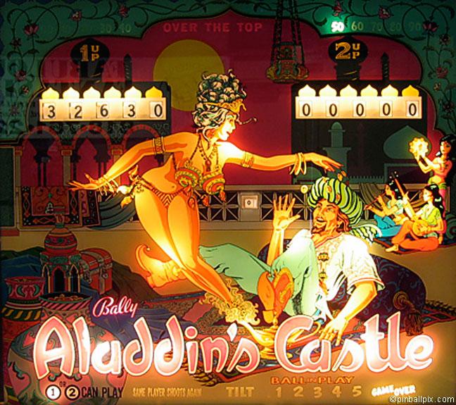 Aladdin's Castle Pinball (1976 Bally)