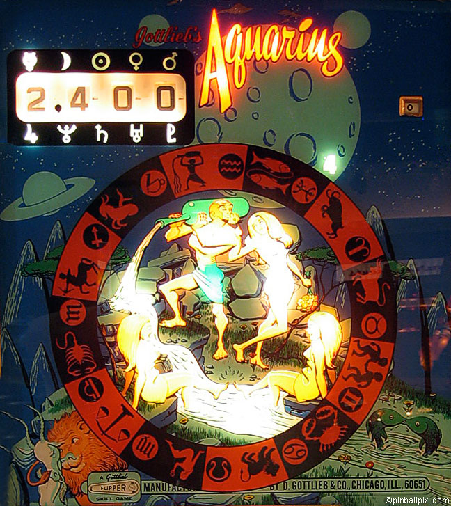 Aquarius Pinball (1970 Gottlieb)