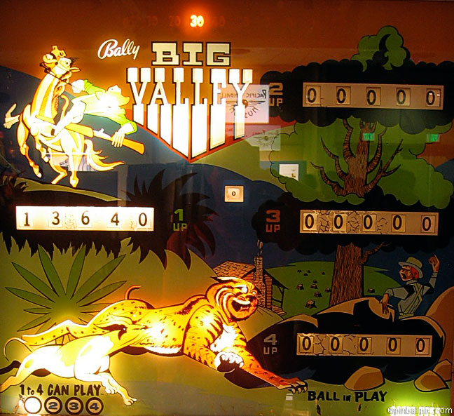Big Valley Pinball (1970 Bally)