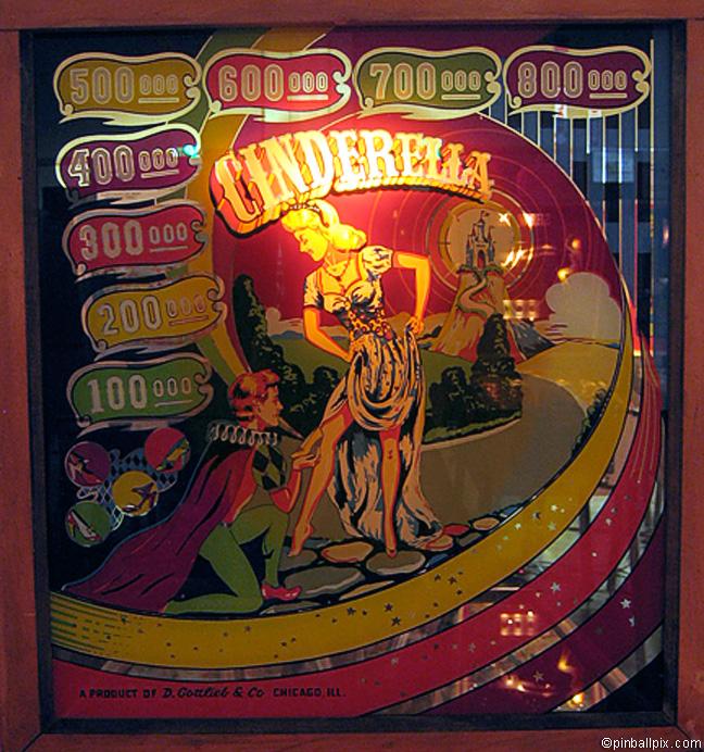Cinderella Pinball (1948 Gottlieb)