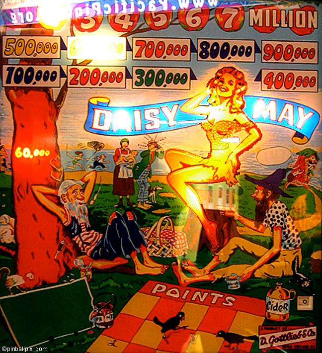 Daisy May Pinball (1954 Gottlieb)