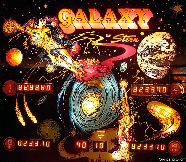 Galaxy Pinball (1980 Stern)