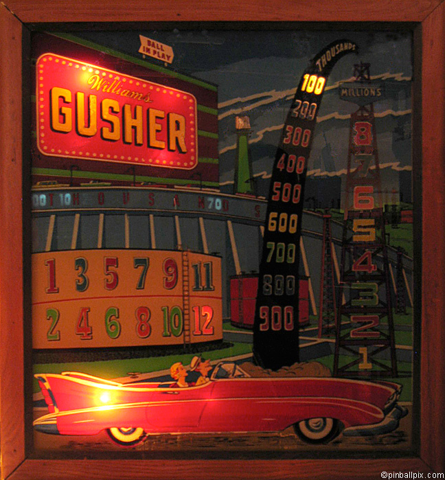 Gusher Pinball (1944 Williams)