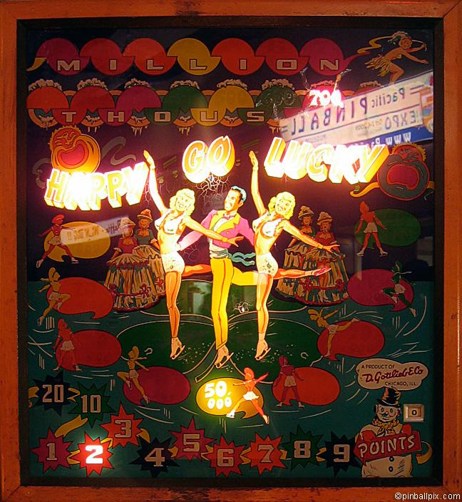 Happy Go Lucky Pinball (1951 Gottlieb)
