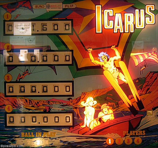 Icarus Pinball (1977 Recel S.A.)