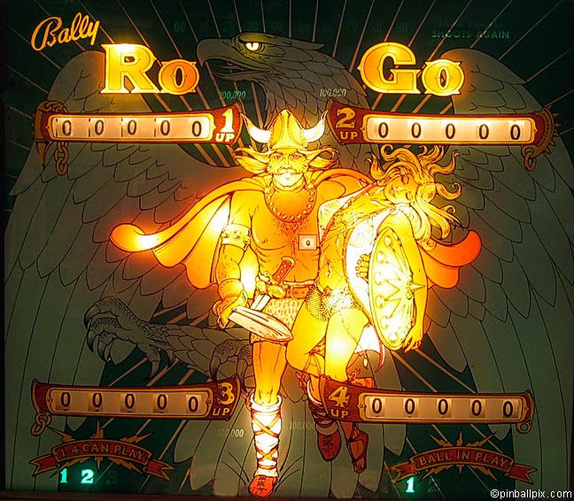 Ro-Go Pinball (1973 Bally)