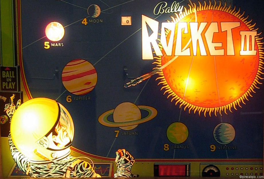 Rocket III Pinball Wallpaper