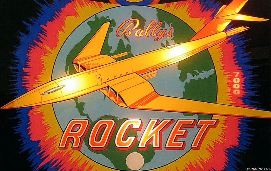 Rocket Pinball Wallpaper