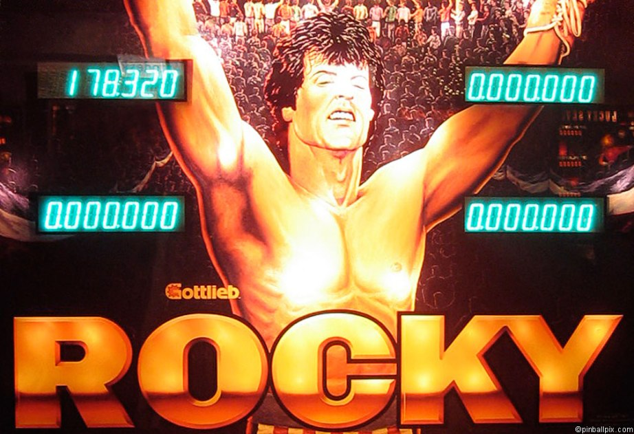 Rocky Pinball Wallpaper