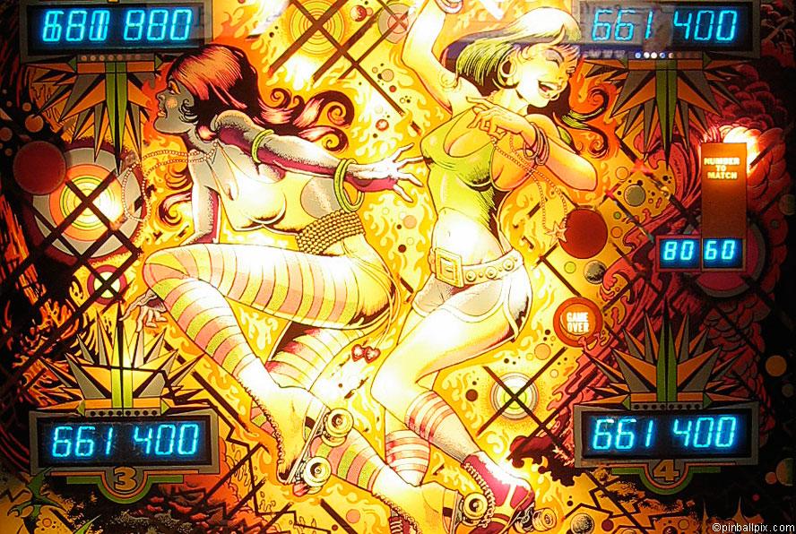 Roller Disco Pinball Wallpaper
