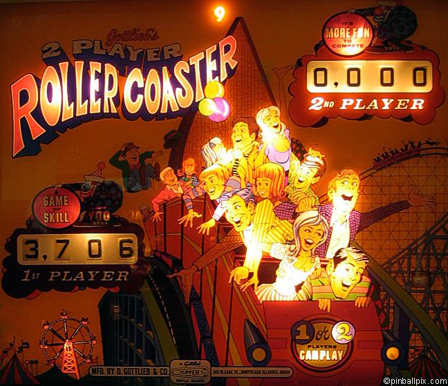 Rollercoaster Pinball