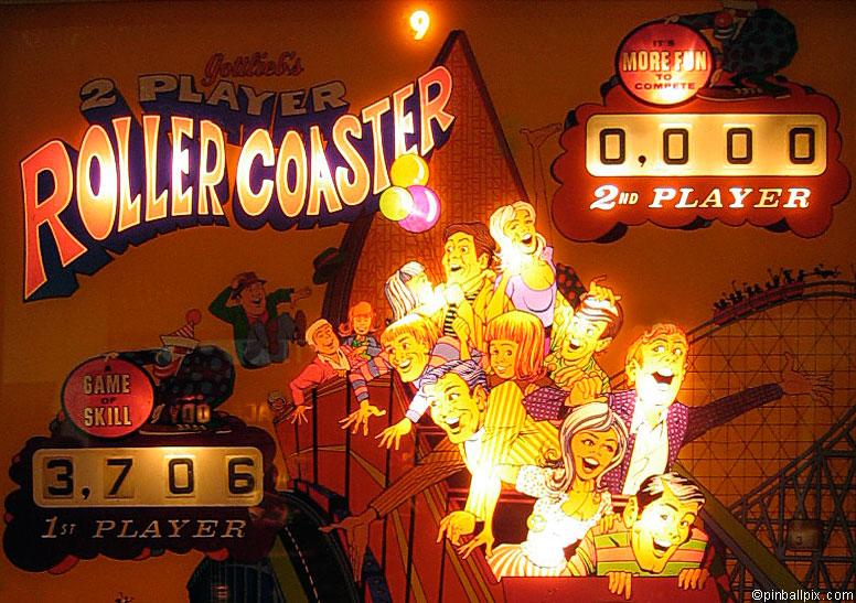 Rollercoaster Pinball Wallpaper