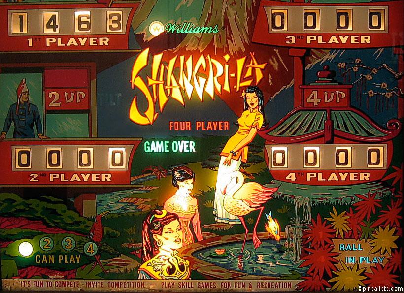 Shangri-La Pinball Wallpaper
