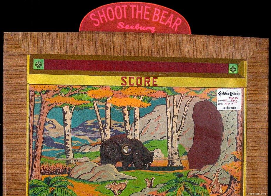 Shoot the Bear Arcade Game Wallpaper