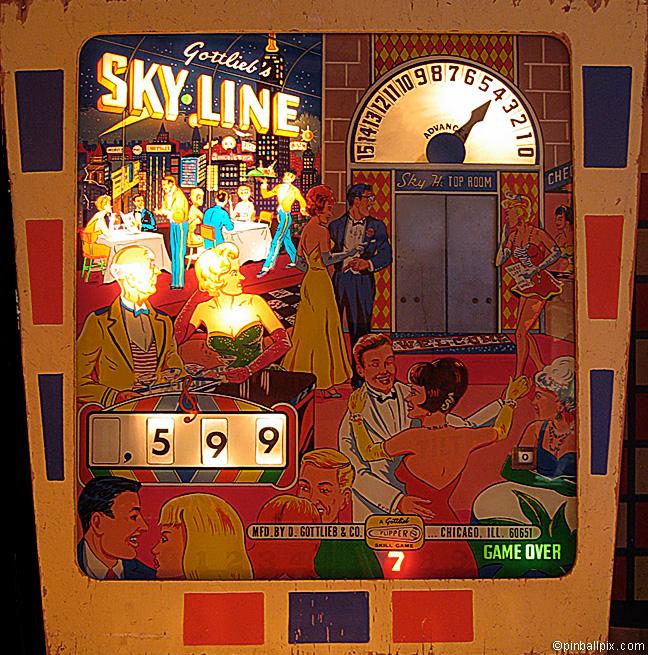 Sky-Line Pinball (1965 Gottlieb)