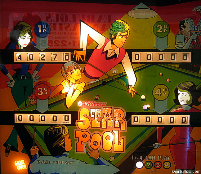 Star Pool Pinball (1974 Williams)