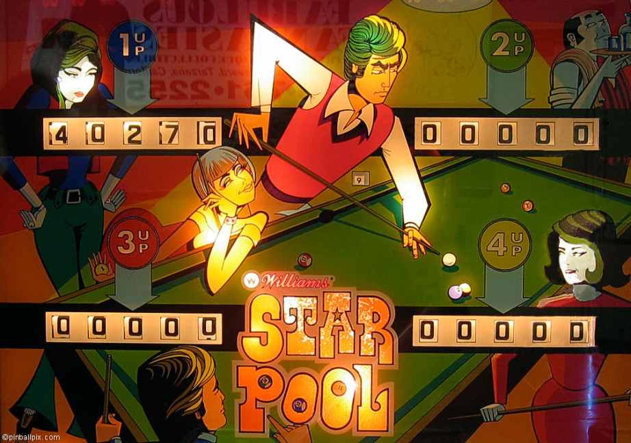Star Pool Pinball Wallpaper