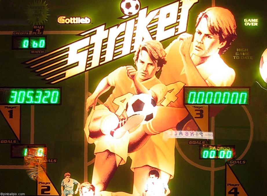 Striker Pinball Wallpaper
