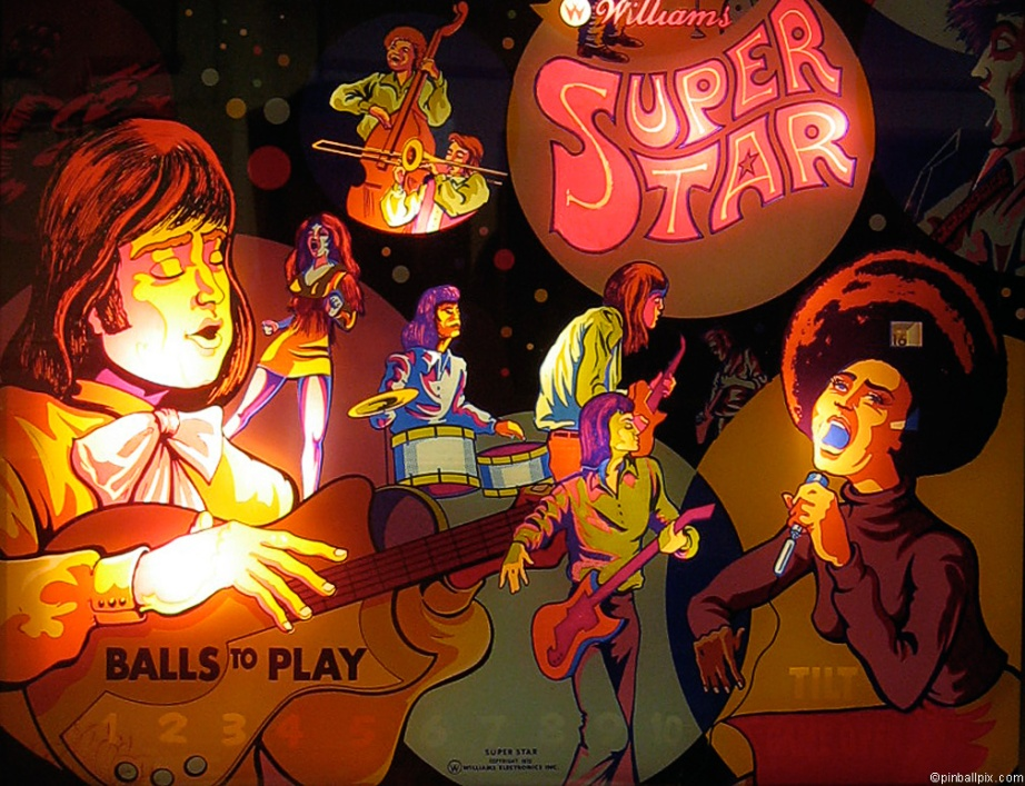 Super Star Pinball Wallpaper