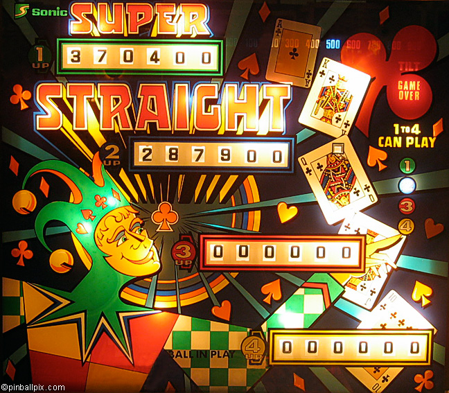 Super Straight Pinball (1977 Sonic)