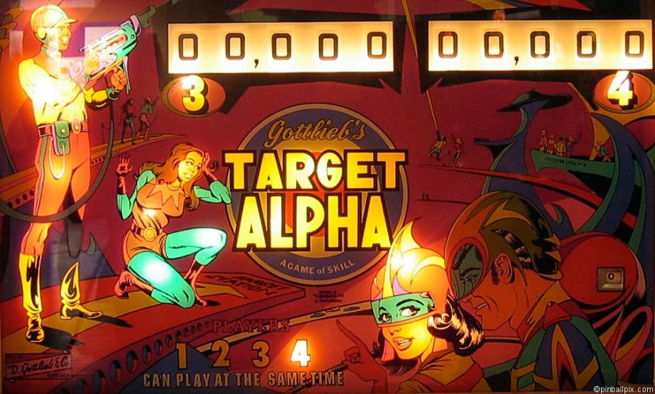 Target Alpha Pinball Desktop Wallpaper