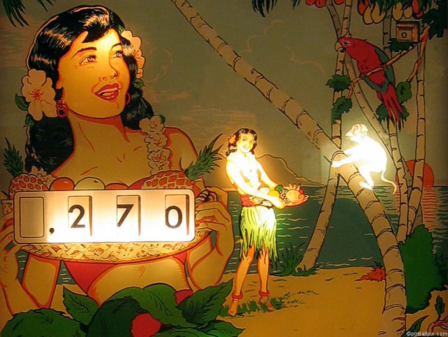 Tropic Isle Pinball Desktop Wallpaper