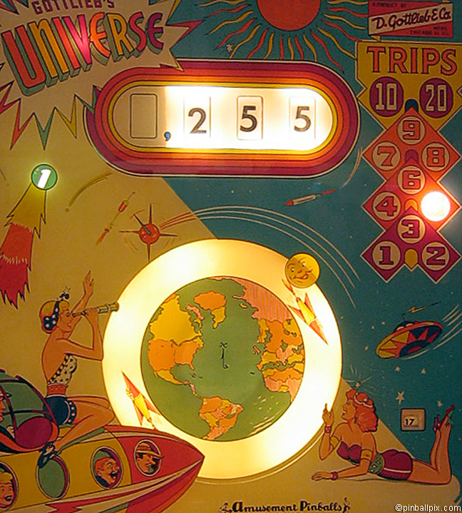 Universe Pinball (1959 Gottlieb)